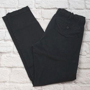 "J.Crew men's Flex Chino Driggs Black ""Flaw"" 30X32"